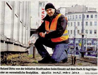 Roland Dirks Eierentnahme