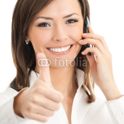 Businesswoman_with_cellphone_and_thumbs_up.jpg