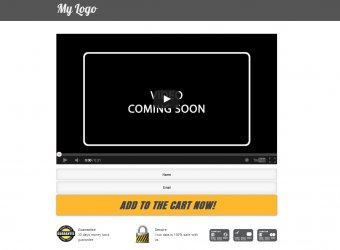 Video Sales Page - Vorlage