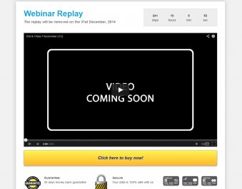 Webinar Replay - Vorlage