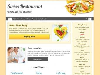 Restaurant - Vorlage