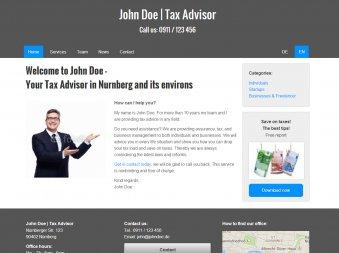 Steuerberater - Vorlage