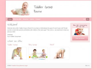 Toddler Group - Template