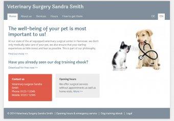 Tierarzt - Vorlage
