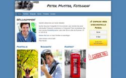 Webseite erstellen lassen Fotograf