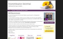 Webseite erstellen lassen Kosmetik