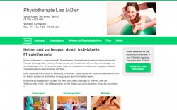 Webseite erstellen lassen Physiotherapie