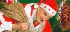 Feirn mit Weihnachtsmann