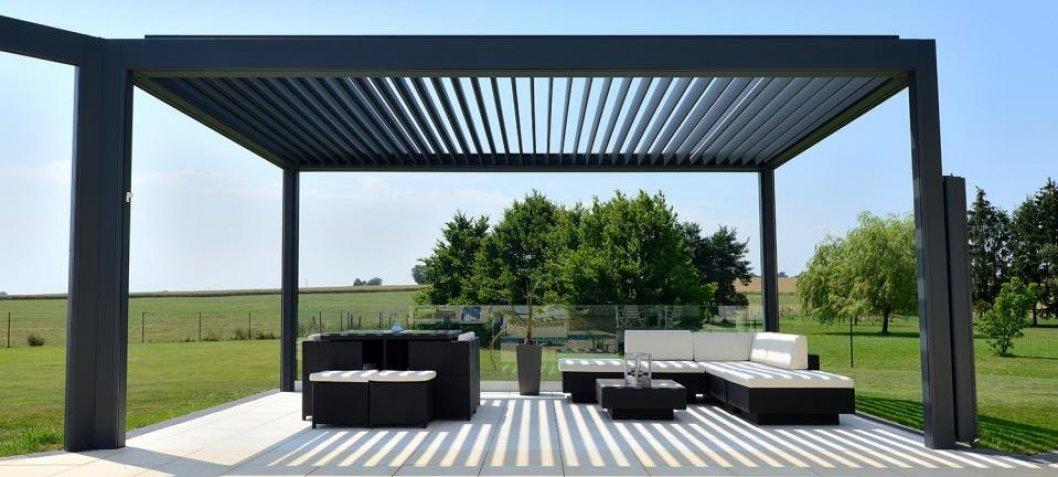 berdachungen f r terrassen wintergaerten ehret. Black Bedroom Furniture Sets. Home Design Ideas