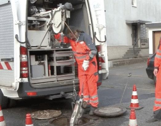 Rohrreinigung TV-Kamera Servicefahrzeug