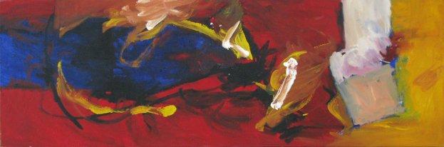 Bilderflut 50x150 cm / Acrylique / Propriété privée