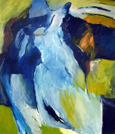 Anschmiegen 140x120 cm / Acryl