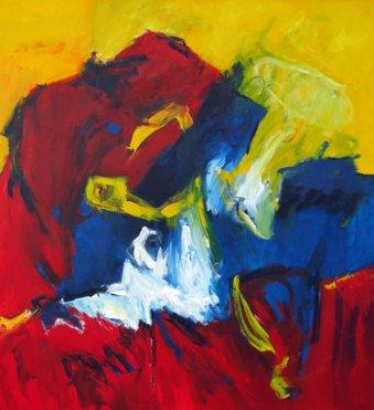 Erobern 150x140 cm / Acrylic