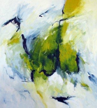 Lustwandeln 150x140 cm / Acryl