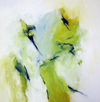 Erobern 150x140 cm / Acryl