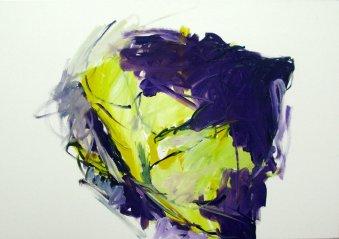 Lichtgefäss 70x100 cm / Acryl