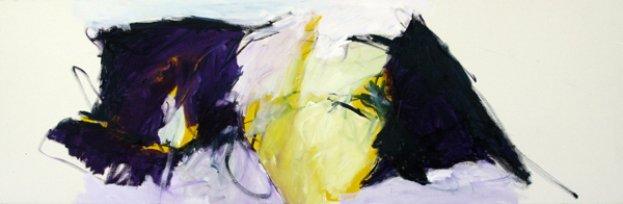 Auferstehung Ostern 50x150 cm /Acryl