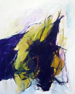 Grablegung Karsamstag 80x65 cm / Acrylic