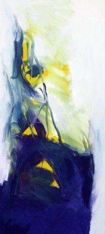Lichtfunken 100x45 cm / Acrylique
