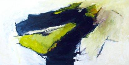 Paradiesvogel 75x150 cm / Acryl