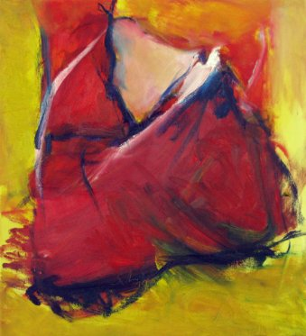 Rosie's Foot Inspired by Supertramp 44x40 cm / Oil
