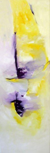 Trisagion de Arvo Pärt /150x50 cm / Huile