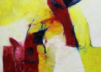 1. Symphonie von Maler 90x125 cm / Oel