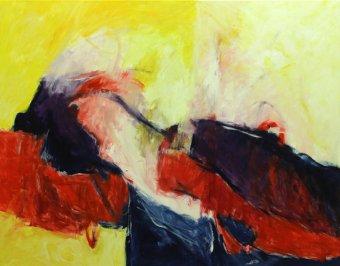 6. Symphonie by G. Mahler / 100x127 cm / Oil