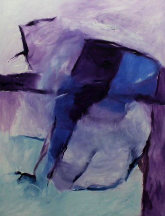 7. Symphonie by G. Mahler / 127x100 cm / Oil