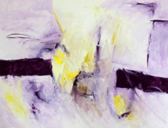 8. Symphonie by G. Mahler /100x127 cm / Oil