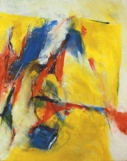 Niklaus von Flüe / Inspired by Arthur Honegger/ 50x40 cm / Oil