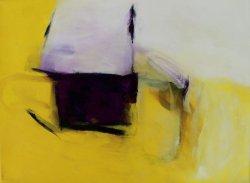 My heart's in the highlands / Inspiriert durch Arvo Pärt / 30x40 cm / Oel