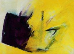 Salve Regina  / Inspiriert durch Arvo Pärt / 30x40 cm / Oel