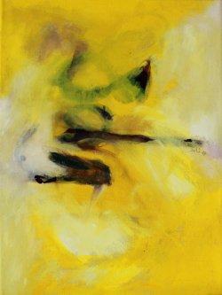 Alina / Inspiriert durch Arvo Pärt / 40x30 cm / Oel