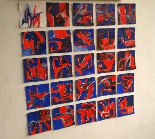 Inspiré par Avo Pärt / Da Pacem / 25x15x15 cm / Huile