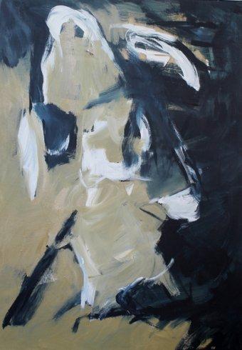 Inspiriert von Fleetwood Mac / Love Shines / 100x70 cm / Acryl