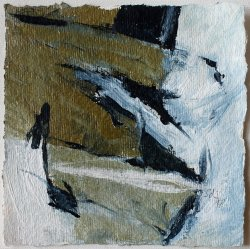 Inspired by Brandford Marsalis / 15x15 cm / Acrylic