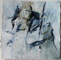 Inspiriert von Brandford Marsalis  / 15x15 cm / Acryl