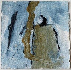 Inspiriert von Arvo Pärt / Alleluja Tropus  / 15x15 cm / Acryl