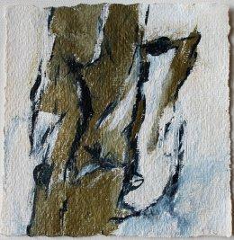 Inspiriert von Arvo Pärt / Estonian Lullaby / 15x15 cm / Acryl