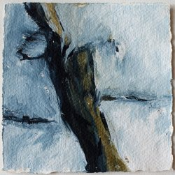 Inspired by Susanne Abbuehl / Bathyal / 15x15 cm / Acrylic