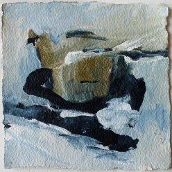 Inspiriert von Susanne Abbuehl / Primrose / 15x15 cm / Acryl