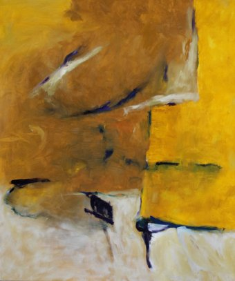 gesichtet / 50x70 cm / Oel