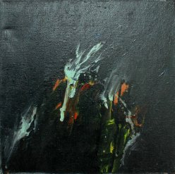 Conversation piece / 30x30 cm / Acrylic