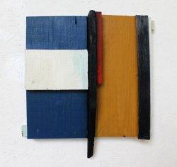 Pensées claires / 30x28 cm / Acrylique sur bois