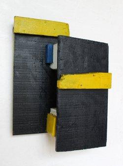 Offener Raum / 51x37 cm / Acryl auf Holz