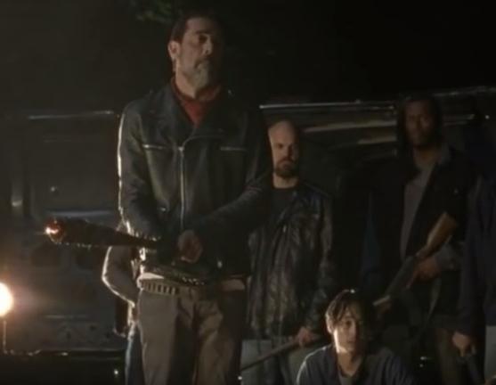 Negan tötet gleich Glenn
