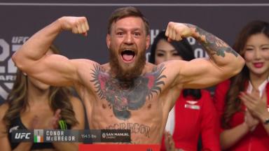Conor McGregor vor UFC 229
