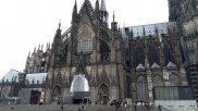 Kölner Dom Ansicht vom Hauptbahnhof