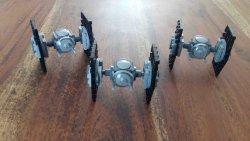 Lego StarWars Tie Fighter Staffel